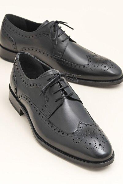 Elle Shoes JOSTEIN Siyah Klasik Ayakkabı 20YSN148001