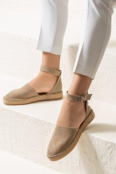 Elle Shoes SELBY Bej Sandalet 20YKPT2