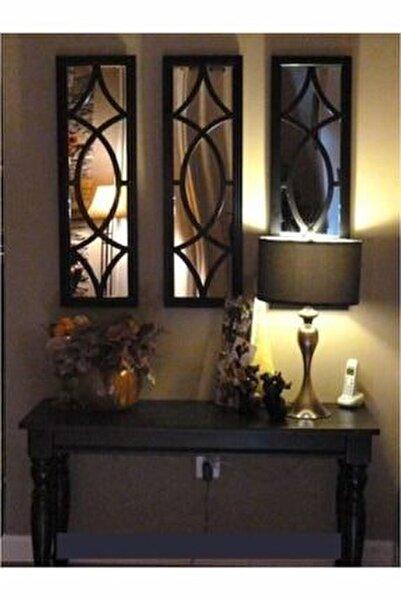 Dekoratif Modern Üçlü Ayna
