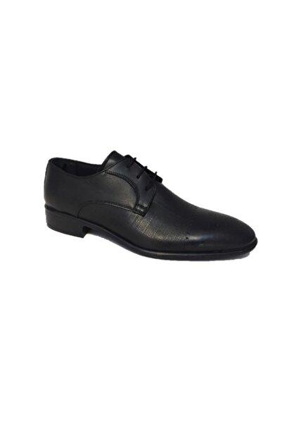 Sahra Erkek Siyah Pvc Taban Hakiki Deri Klasik Ayakkabı 1340