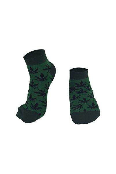 Özgür Çoraplar Yeşil Ot Kadın Patik