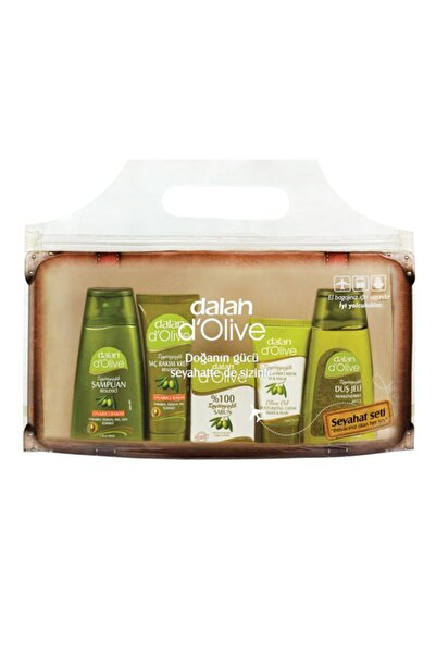 Dalan Seyahat Seti 5 Li ( Şampuan, Saç Kremi, Sabun, Krem, Duş Jeli 20 ml Lik Paketlerde)