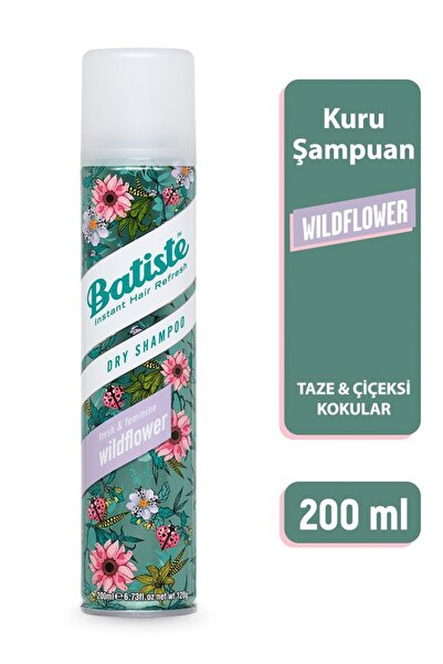 Batiste Wildflower Kuru Şampuan - Wildflower Dry Shampoo 200ml