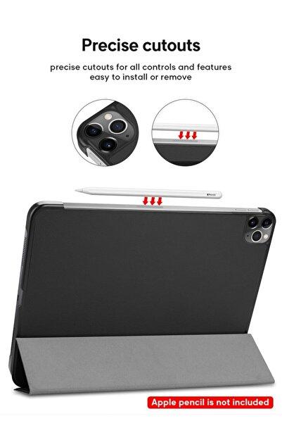 Haweel Ipad Pro 12.9 2020 Kılıf Leather Case Ipad Pro 12.9 2020 Kılıf