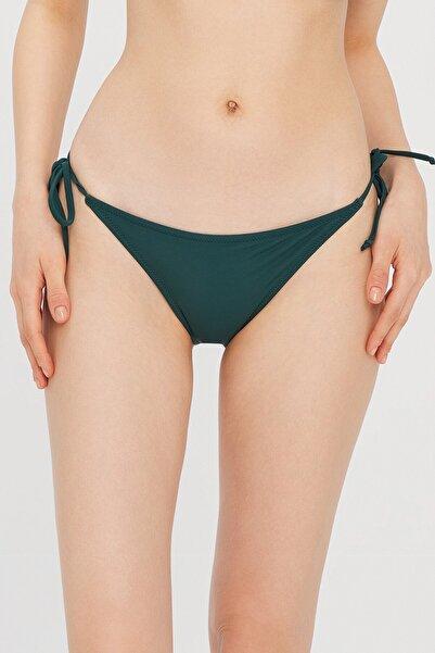 Penti Kadın Koyu Yeşil Basic Bikini Altı