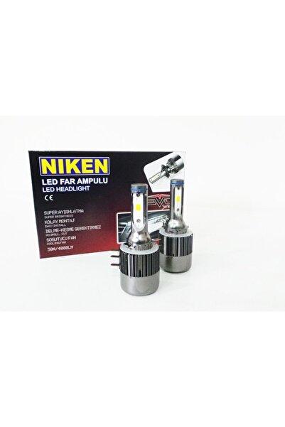Niken H15 Led Xenon Far Aydınlatma Seti Şimşek Etkili Evo 8000lm