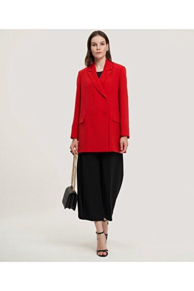 Aker Kadın Kırmızı Kruvaze Ceket V52020150