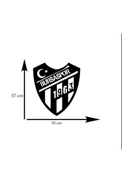 Ledli Bursaspor Ahşap Tablo
