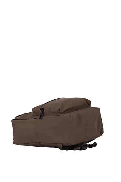 Unisex Kahverengi Kumaş El Ve Sırt Çantası