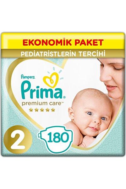 Prima 2 Beden Yenidoğan Premium Care Bebek Bezi 3*60 180 Adet