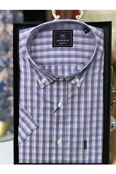 Erkek Gömlek Kısa Kollu Çizgili