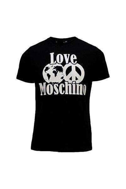Love Moschino Erkek Baskılı T-shırt