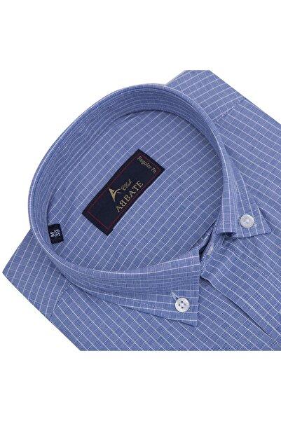 Erkek Orta-Mavi Uzun Kollu Gömlek - 1Gm91Uk1262R 568