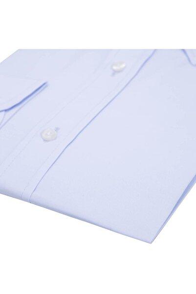 Erkek Açık Mavi Uzun Kollu Gömlek - 1Gm91Uk1258S 554