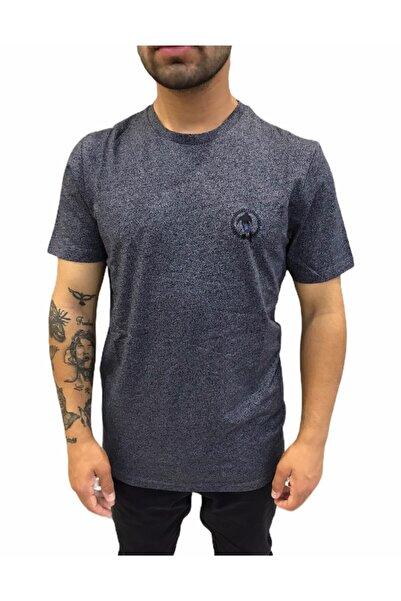 Bikkembergs Erkek Antrasit Basic Küçük Logo  T-shirt