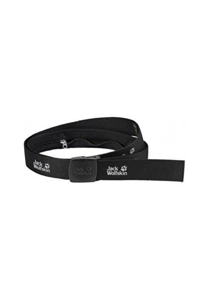 Jack Wolfskin Unisex Siyah  Secret Belt Wide  Kemer - 8000851-6000