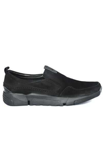Freefoot 4103 Siyah Torino Deri Ayakkabı