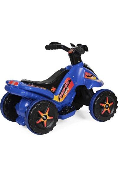 UJ Toys Mavi Akülü Atv Motor 6 Volt Bisiklet
