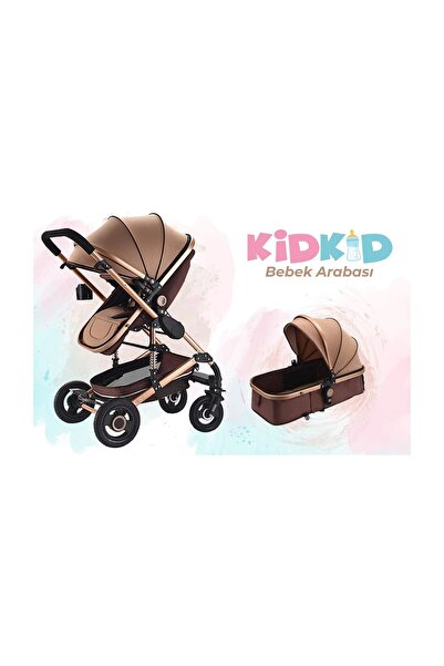 Kidkid Katlanır Çift Yönlü Alüminyum Bebek Arabası