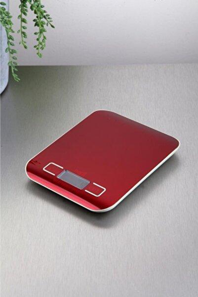 Techfit Tf 1002 Platin Dijital Mutfak Terazisi Kırmızı