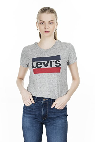 Kadın Sportswear Logo T-shirt 17369-0303
