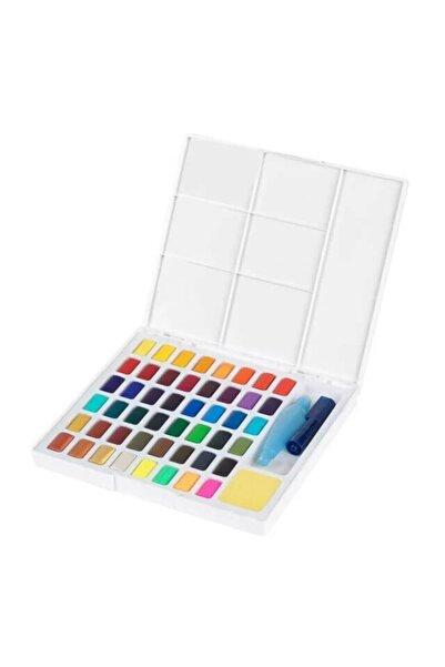 Faber Castell Creative Watercolor Tablet Sulu Boya Seti 48 Renk Su Hazneli Fırça