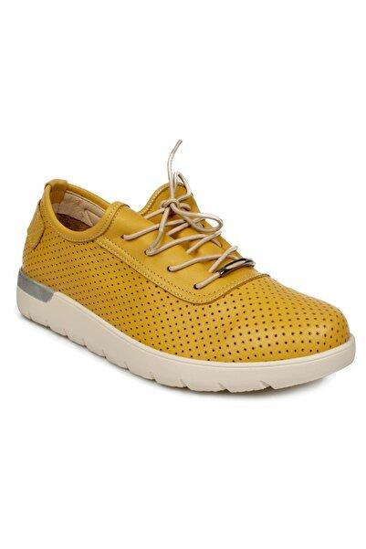 Stella 20298z Casual Günlük Bağlı Sarı Kadın Ayakkabı