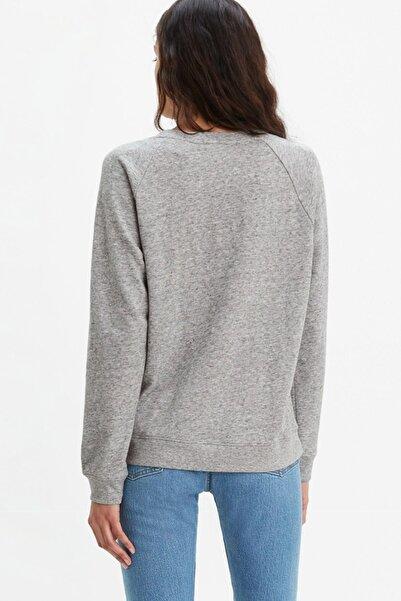 Kadın Relaxed Graphic Sweatshirt 29717-0061