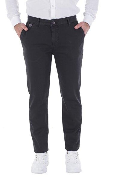 Diandor Düz Kesim Erkek Pantolon Siyah/Black 1813005