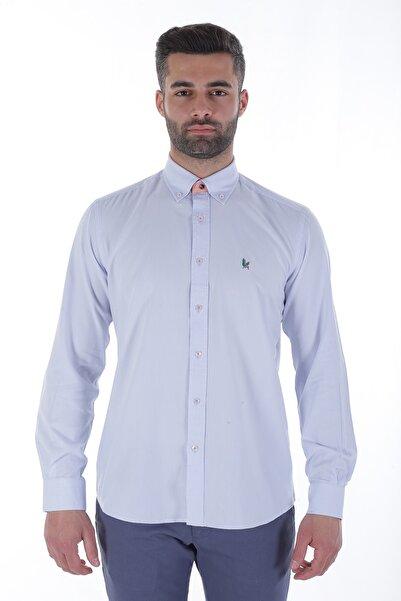 Diandor Uzun Kollu Erkek Gömlek Gri/Grey 1912007