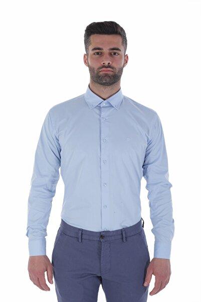 Diandor Uzun Kollu İtalyan Yaka Erkek Gömlek V1 1912024
