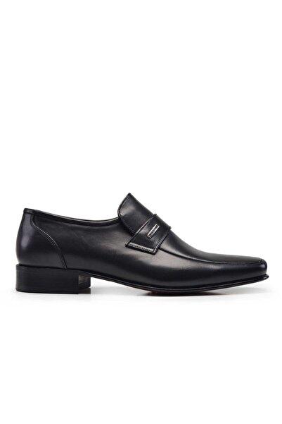 Nevzat Onay Antik Siyah Erkek Klasik Ayakkabı 3699-OFT PIY|244