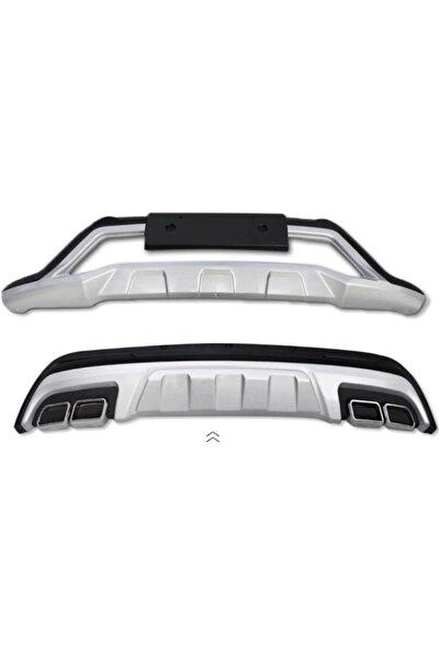 OEM Hyundai Tucson Ön Arka Tampon Koruması Difüzör Turbolu Modeller İçin 2015 / 2017