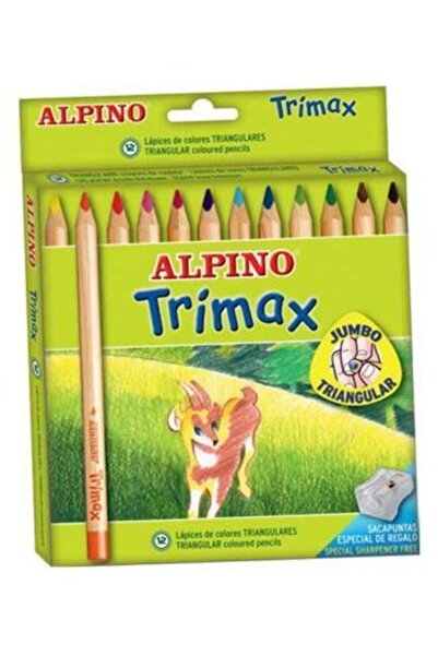 Alpıno Alpino Trimax 12 Jumbo Kuru Boya