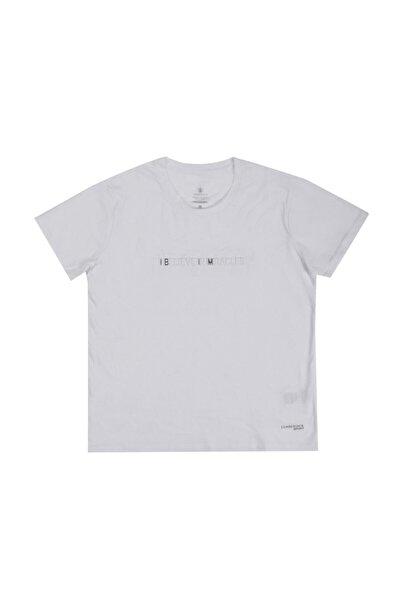 lumberjack W-1896 Hammett Kk Tshırt Beyaz Kadın T-shirt