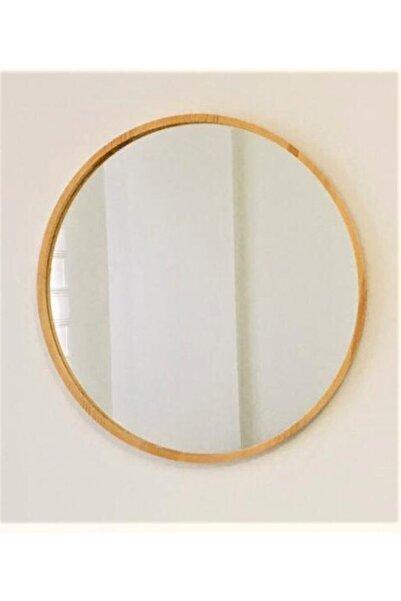 şeker marangoz Ahşap Çerçeve Dekor Ayna 46 cm