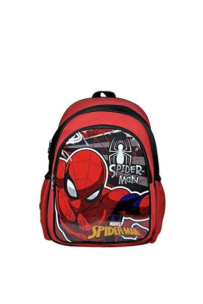 Disney Spiderman Spider-Man Örümcek Adam İki Gözlü Kırmızı/Mavi İlkokul Çantası - Hakan 96620