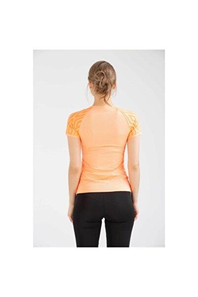 Kadın Turuncu Sportswear Tshirt Vf-0001