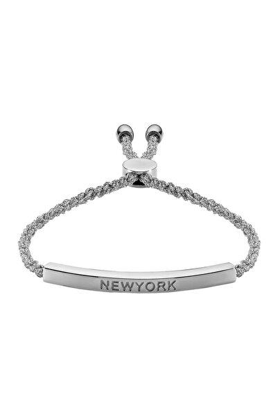 Luzdemia Zincir Bileklik - Newyork - Gümüş