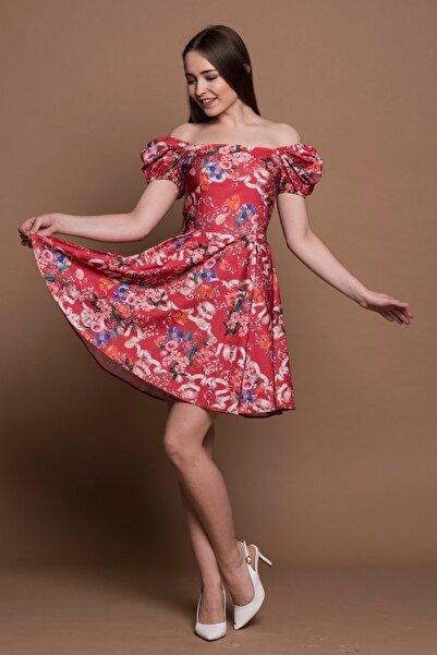 Kadın Çiçekli Yazlık Elbise