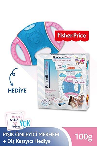Bepanthol Baby Pişik Önleyici Merhem 100 g + Fisher Price Pembe&Mavi Diş Kaşıyıcı Hediye 8699546370535