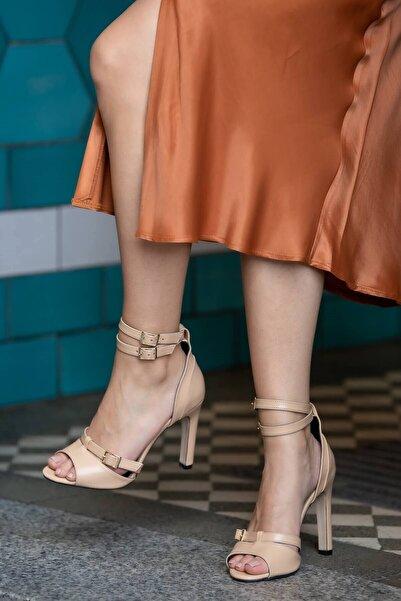 Mio Gusto Isabel Ten Topuklu Ayakkabı
