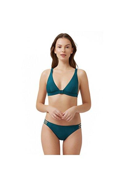 Kom Kadın Yeşil Yvet Bikini Takımı