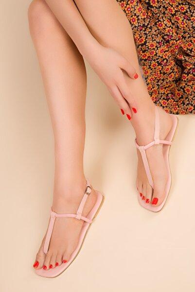SOHO Pudra Kadın Sandalet 15150