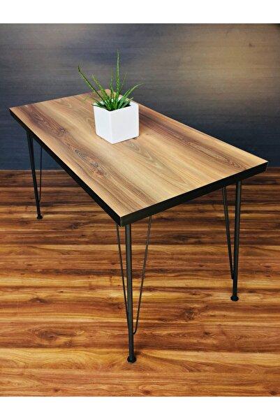 Yirmi15 Metal Ayak Hilal Dekoratif Mutfak Masası 60x120cm