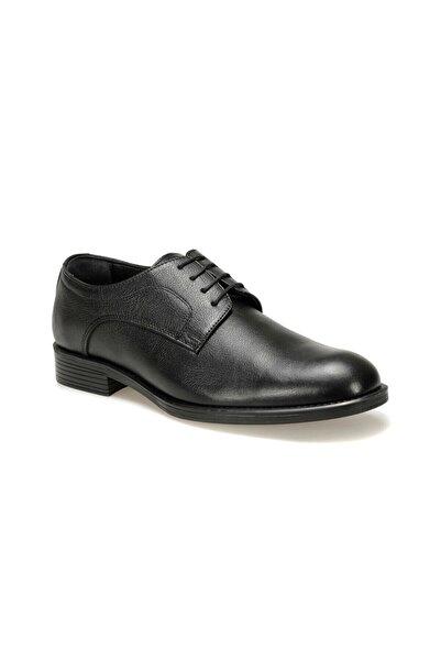 Garamond Hakiki Deri Siyah Erkek Klasik Ayakkabı BY-01-1