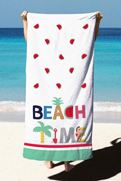 Belnido Home  Plaj Havlusu Dijital Baskılı 75x150 cm PH4003