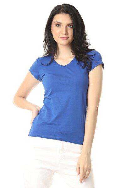 Kadın Mavi T-shirt