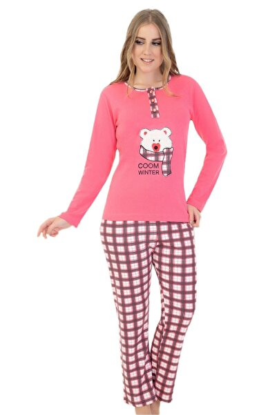 walkie Bella Pembe Pijama Takımı