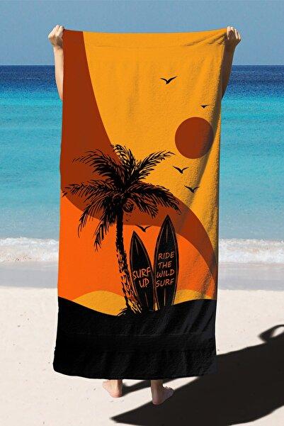 Belnido Home Plaj Havlusu Dijital Baskılı 75x150 cm PH2010